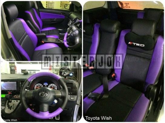 Desain Jok Toyota Wish